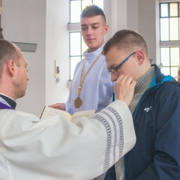 Przygotowanie Aleksandra do chrztu (03 2018)