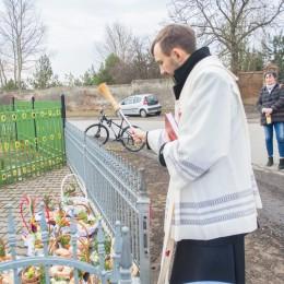 Święcenie pokarmów w Marulewach i Trzaskach (03 2018)